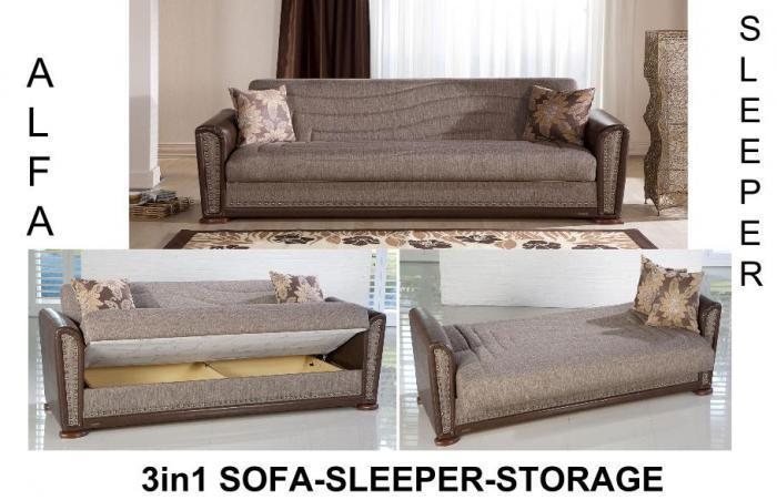 Alfa Sofa Euro Sleeper Istikbal