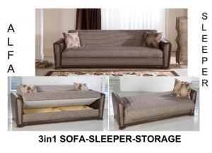 Alfa Sofa Euro Sleeper